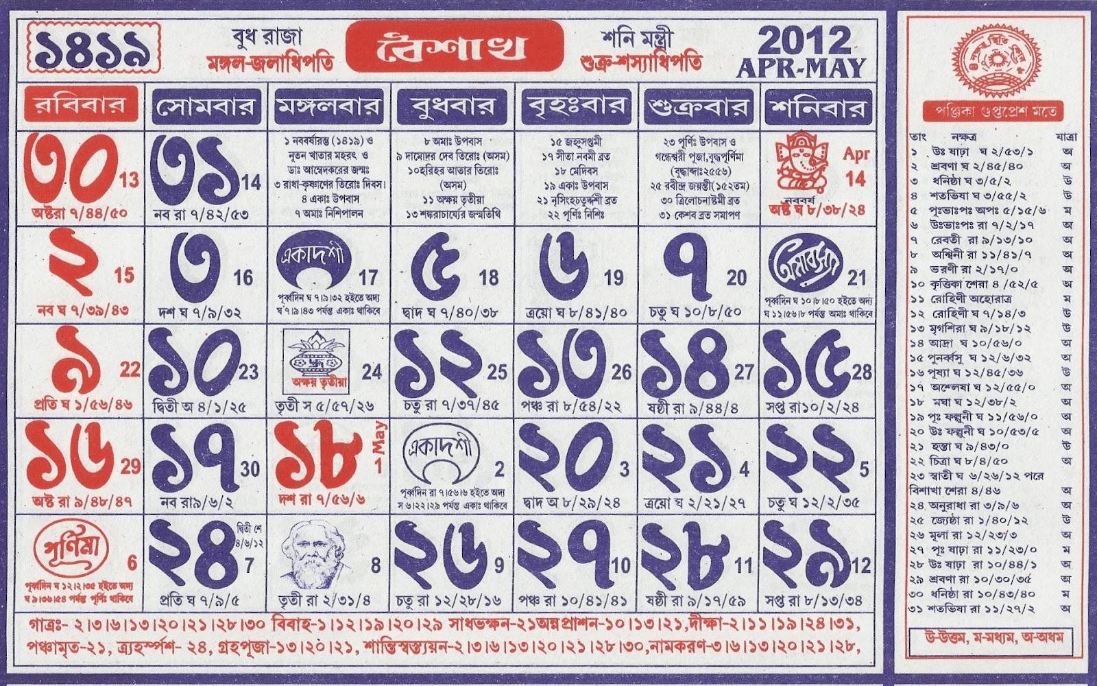 Calendar Bangla : Pin bengali calendar annaprashan dates wallpapers